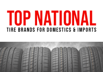 Top National Tire Brands for Domestic & Imports